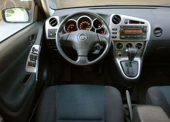 Toyota Matrix Interior