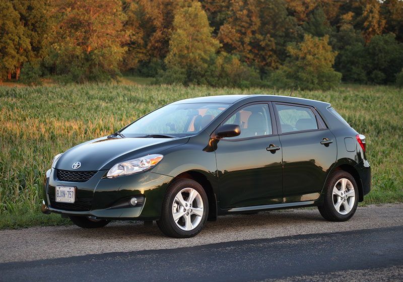 2009 toyota matrix maintenance required light