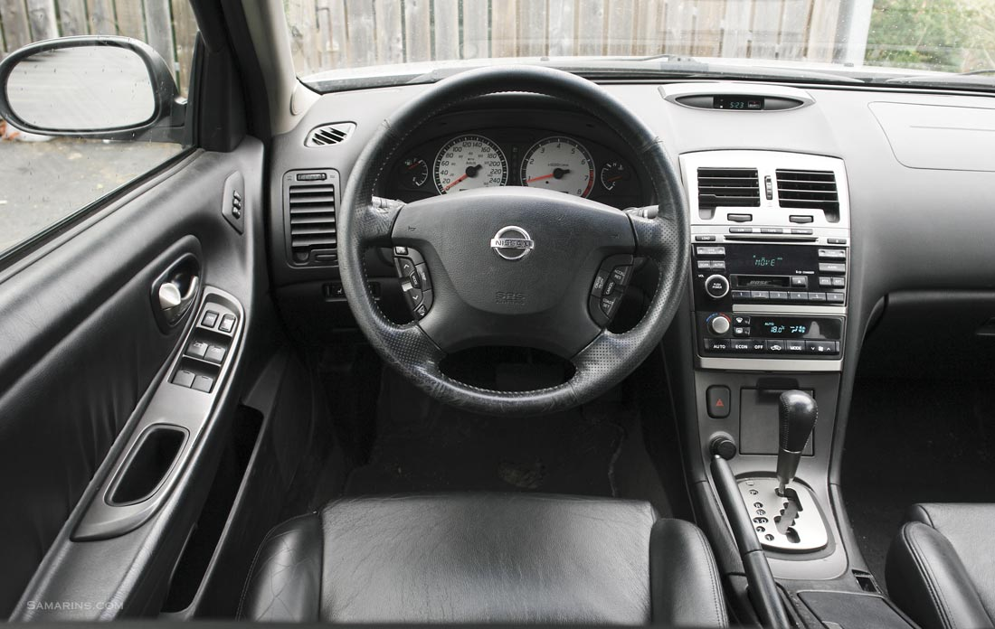 Nissan Maxima 2000-2003 problems, fuel economy, handling ...
