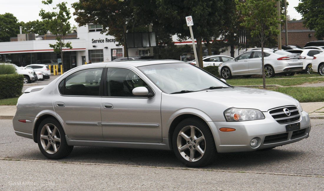 Nissan Maxima 2000-2003 problems, fuel economy, handling and