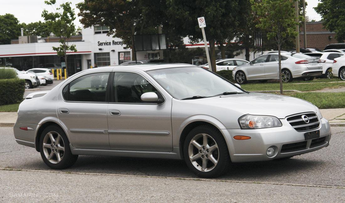 Nissan Maxima 2000-2003 problems, fuel economy, handling ...