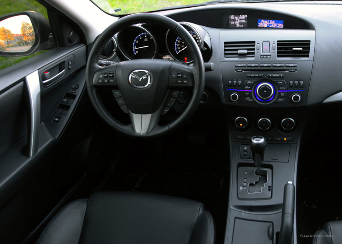 Mazda 3 2012 Interior. Click For Larger Photo