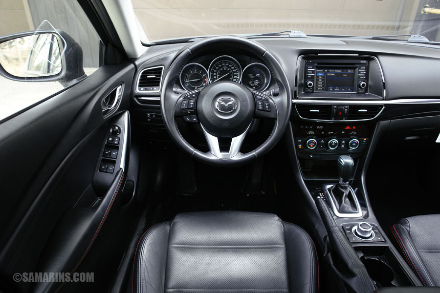 Great Mazda 6 Interior