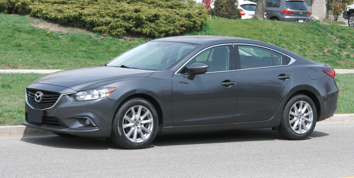 2016 Mazda 6, Known As Atenza In Other Markets.