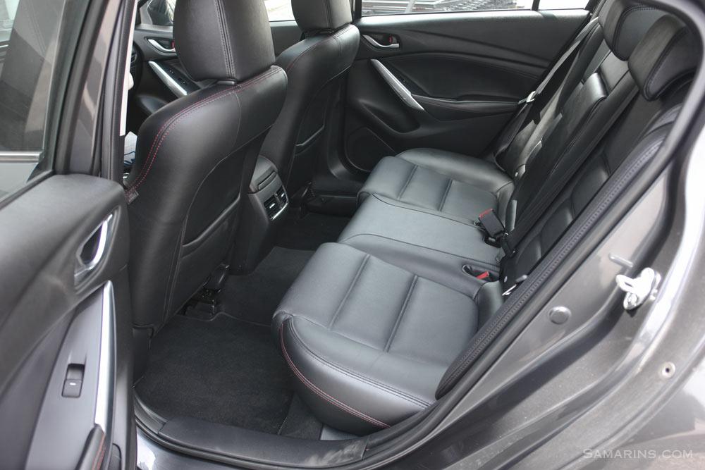 Mazda 6 Rear Seat