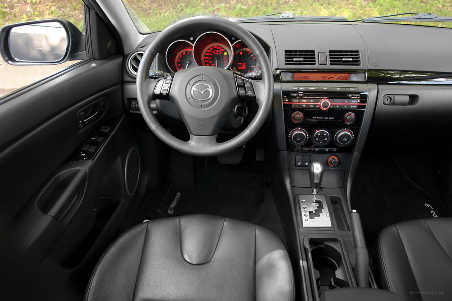 Wonderful 2009 Mazda 3 Interior Images