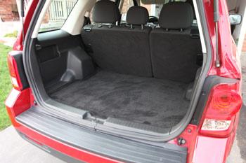Mazda Tribute Cargo