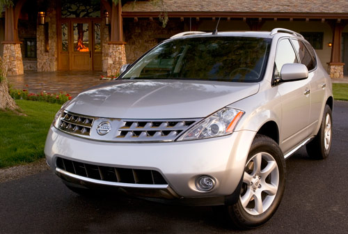 2004 nissan murano sl review