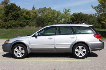Subaru Outback 2005-2009: engine, AWD system, fuel economy