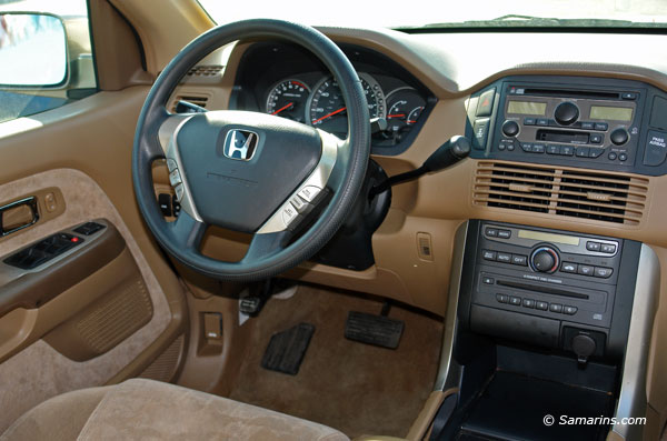 2004 honda pilot specifications