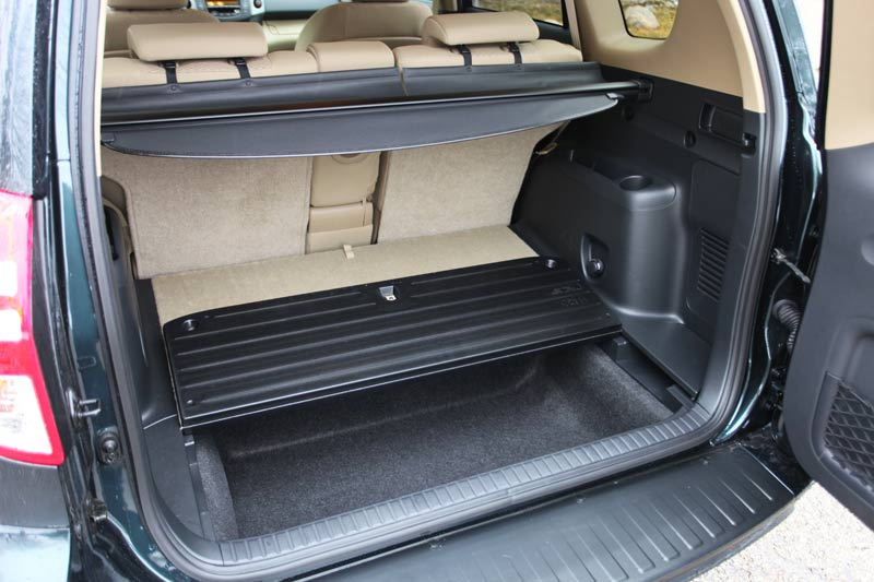 2017 Toyota Rav4 Cargo Compartment