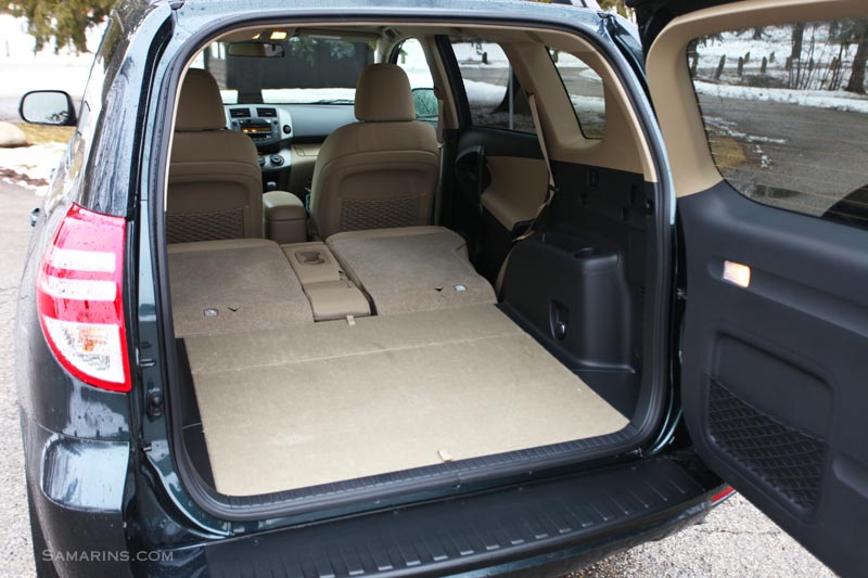 Toyota Rav4 Seats Folded