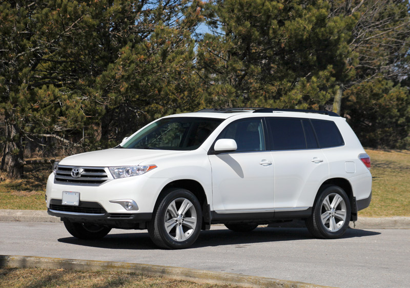 Perfect 2013 Toyota Highlander