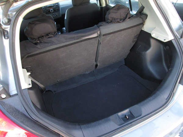 Nissan Versa Cargo Compartment