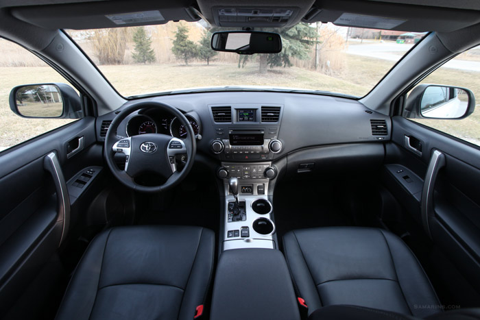 Highlander Interior on 2012 Toyota Highlander V6 Engine