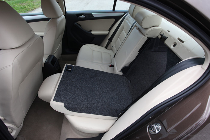 Jetta Folding Rear Seats
